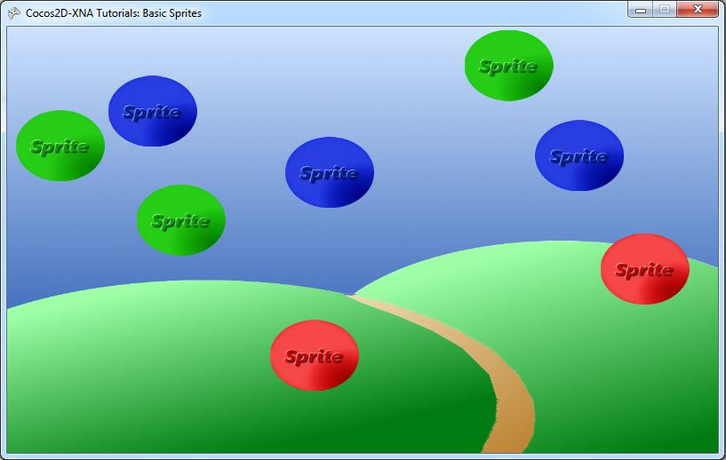 BasicSpritesScreenshot